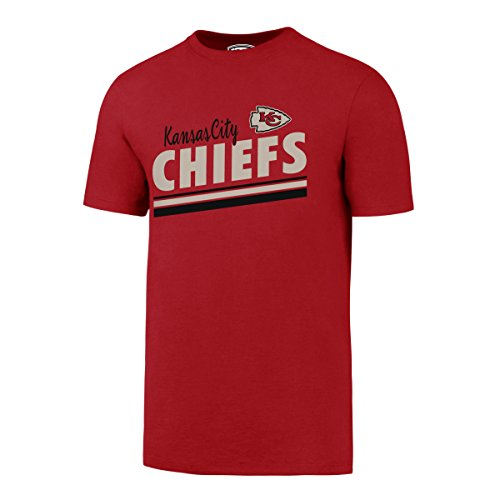OTS NFL Kansas City Chiefs Men's Alt Rival Tee, Red, Medium