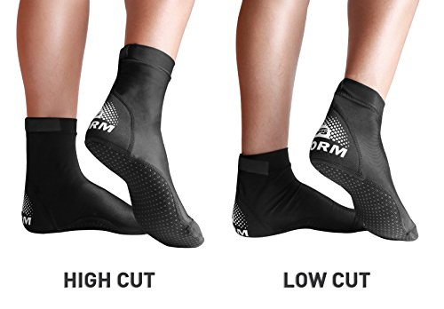 BPS Lycra Fin Socks (Unisex) - High Cut - XS