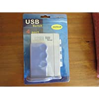 4 Port USB Sharing Switch Device