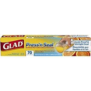 Glad Press'n Seal Food Plastic Wrap - 70 Square Foot Roll