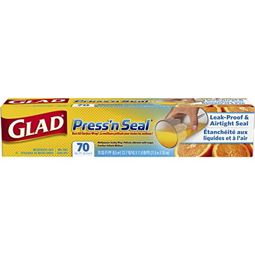 Glad Press'n Seal Food Plastic Wrap - 70 Square Foot Roll