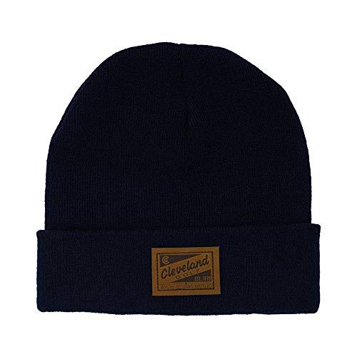 (Cleveland Golf 2015 CG Beanie (Navy, One Size) Toboggan Hat)