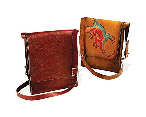 Tandy Leather Messenger Bag Kit-Vertical 44425-00