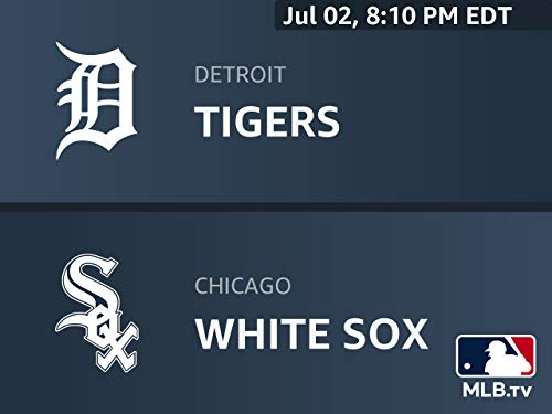 Game Detroit Tigers - Away Broadcast