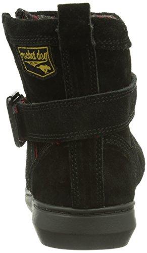 Black Dog Donna Mint Boot Ro3 Nero Stivali schwarz Rocket suede 4dg8qd