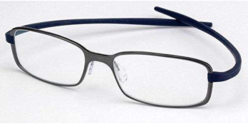 Tag Heuer Reflex 2 Rx Eyeglasses Frames Th 3706 017 56x18 Silver Grey Titanium