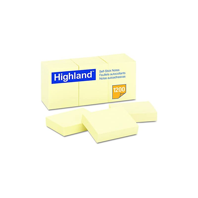 highland-6539yw-self-stick-notes