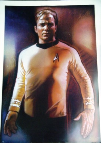 Star Trek Special Original Theater Series Poster of Kirk William Shatner 27 x 40 inches from Star Trek