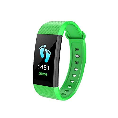 Pulsera deportiva con pista deportiva, frecuencia cardíaca dinámica, presión sanguínea, monitorización de oxígeno en...