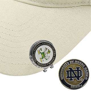 Hat Clip with Ball Marker NOTRE DAME by Extreme Golf