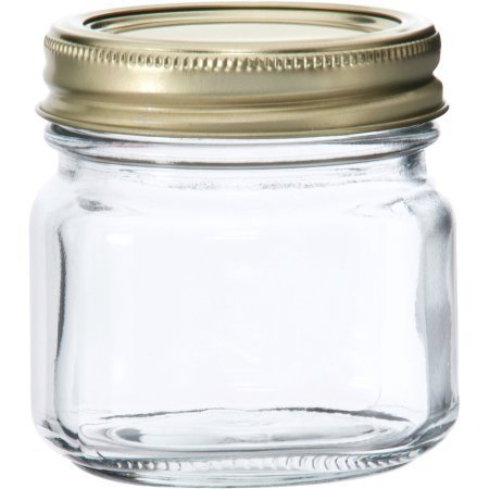 Anchor Hocking Half-Pint Glass Canning Jar Set, 12pk (1) by Anchor Hocking (Oven Safe Mason Jars)