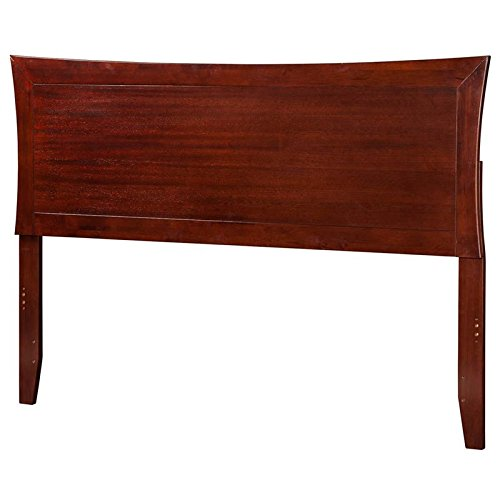 Price comparison product image Atlantic Furniture 63.75 Queen Headboard in Walnut Finish