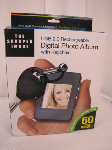 The Sharper Image Digital Photo Album