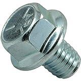 Hard-to-Find Fastener 014973454609 3/8-16 x 1/2 Serrated Flange Bolt (12 Pieces)