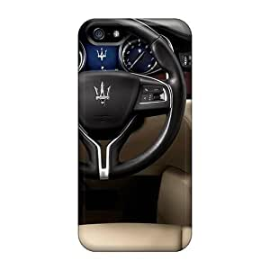Excellent Design Maserati Interior Phone Case For Iphone 5/5s Premium Tpu Case by runtopwell