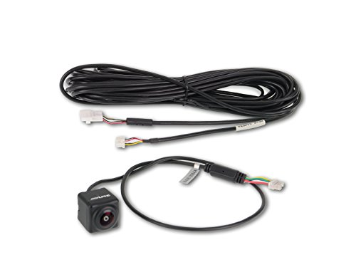 Price comparison product image Alpine HCE-C252RD Universal Waterproof Remote Mount Multi-View Backup Camera