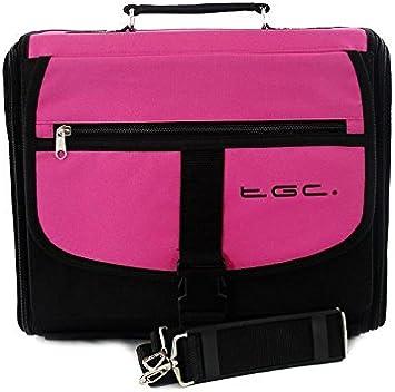 Sony Playstation 2 PS2 colores rosa y negro mochila para consola/funda. También para uso de coche.: Amazon.es: Electrónica