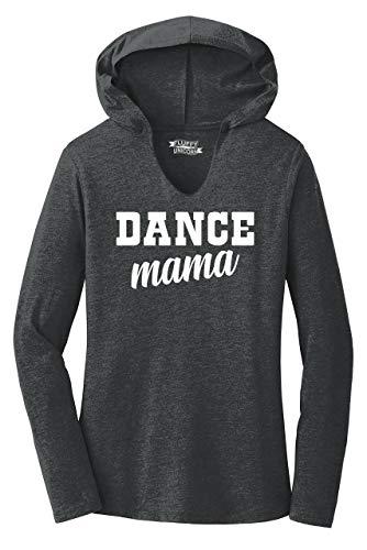 Ladies Hoodie Shirt Dance Mama Black Frost XL ()