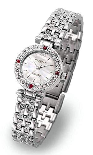 Isaac Valentino IZAX VALNTINO Ladies Jewelry Watches Natural Ruby   Discrimination Written with IVL9100-2 ()