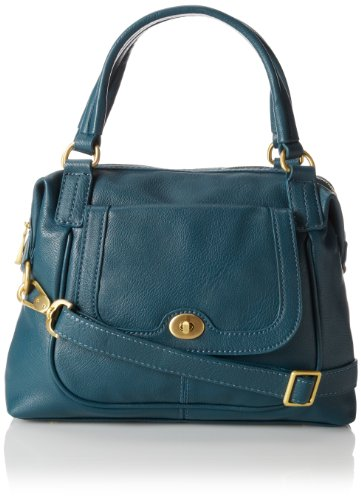 Co-Lab by Christopher Kon Josephine Satchel,Teal,One Size, Bags Central