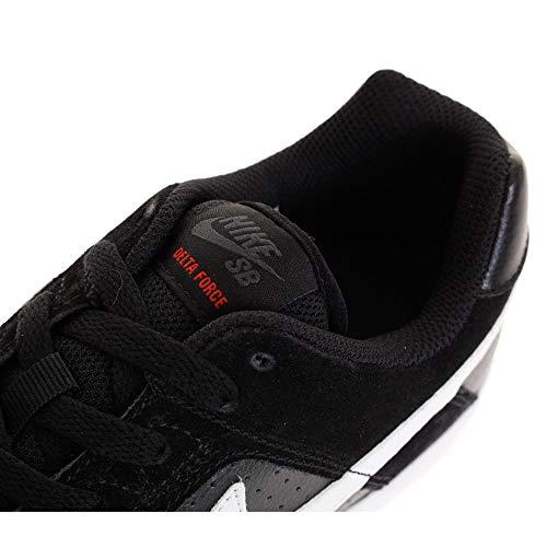 Zapatillas 011 Vulc De habanero Red Multicolor Skateboarding black Nike Unisex white Force Sb Delta Adulto 6qwWOFSI
