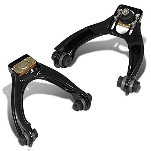 For 96-00 Honda Civic Performance Stainless Steel Adjustable Front Upper Camber Kit (Black) - EK EM