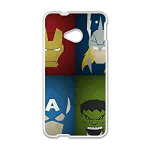WAGT The Avengers Phone Case for HTC One M7 case