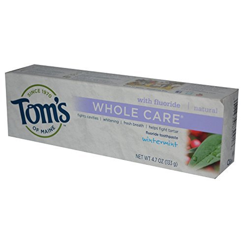 Tom's of Maine, Whole Care, Fluoride Toothpaste, Wintermint, 4.7 oz (133 g) by Tom's of Maine