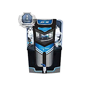 Konvio Neer Jeeone RO + UV + UF + TDS Adjuster Water Purifier with Japanese UV and High 3000 TDS Membrane (Black)