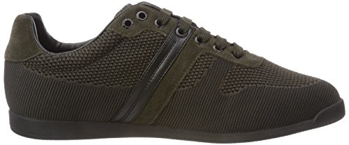 Herren BOSS Green Lowp Grün Sneaker Maze knit2 Dark 301 Rqwdn0aqx