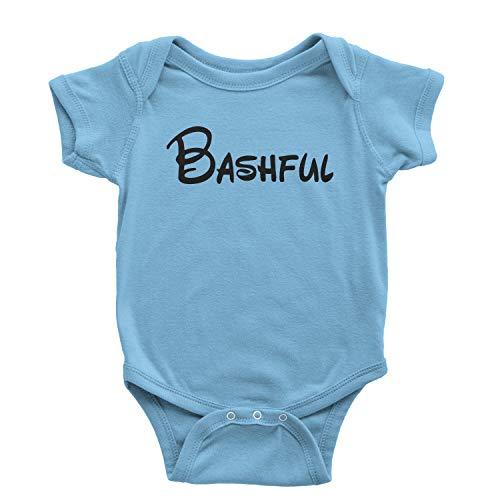 Expression Tees One-Piece Bashful - 7 Dwarfs Costume 6 Months Light Blue Romper]()