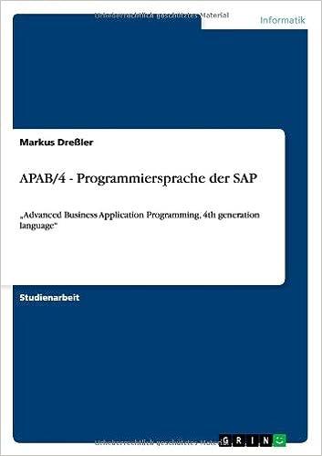 APAB/4 - Programmiersprache der SAP