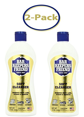 Bar Keepers Friend Liquid Soft Cleaner - 13 oz - Total  26 oz - Pack Of 2 -