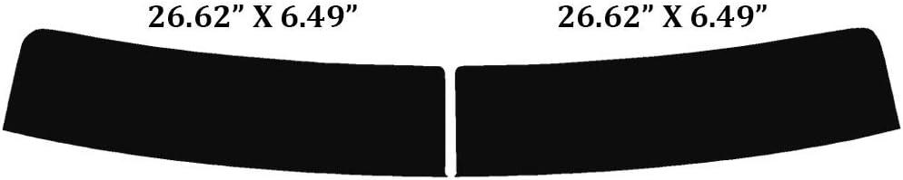 Automotive Window Film Includes: Front Windshield Visor precut in 5/% 2016 2017 Precut Window Tint Kit 2018 /& 2019 Fits: Chevrolet Silverado 2500 /& 3500 HD Crew Cab 2015