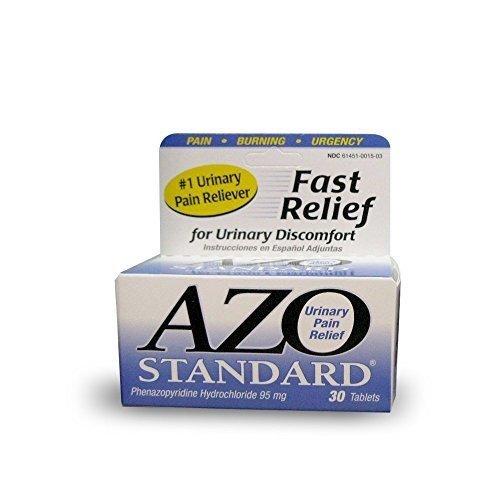 AZO AZO STANDARD TABLETS, 30 - Pain Urinary Relief Azo Standard