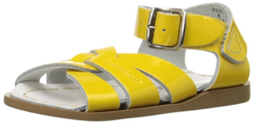 Salt Water Sandals by Hoy Shoe Original Sandal (Toddler/Little Kid/Big Kid/Women's), Shiny Yellow, 4 M US Toddler