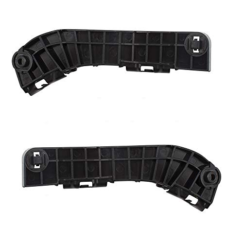 (Pair Set Front Bumper Side Cover Support Bracket Retainers Replacement for 07-11 Toyota Camry 5253606020 5253506030)