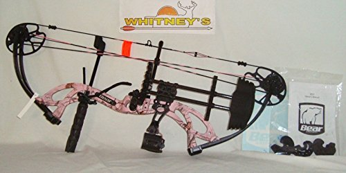 Fred Bear Bows (Fred Bear 2017 Cruzer G2 Spark Bow Pink Right Hand Package 5-70# 12-30
