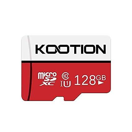 KOOTION Micro SD 128GB Clase 10 Tarjeta de Memoria Micro SDXC (U1 y A1)Tarjeta MicroSD TF Card Alta Velocidad de Lectura hasta 100 MB/s, para ...