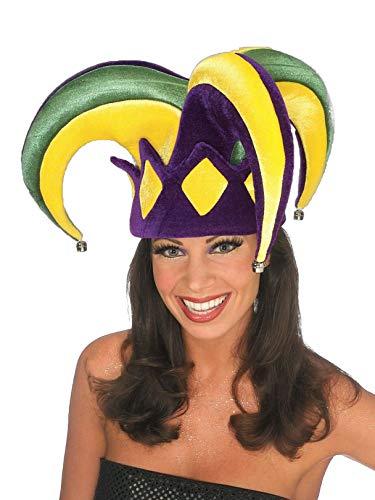Rubie's Mardi Gras Royale Jester Hat, Adult