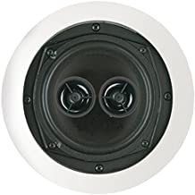 BIC America MSR5D Ceiling Speaker 5.25 W/Dual Voice Coils & Twin Tweeters Consumer Electronics