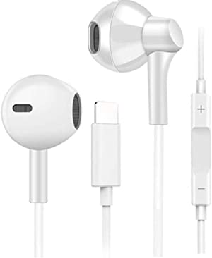 Wired Headphones Earphones Earbuds for iPhone 7 8, YUEMIDANY Earbuds Wired Compatible with iPhone Xs/XS Max/XR/X/8Plus/7Plus,Earbuds Headphones Headset with Microphone Noise Cancelling Earbuds