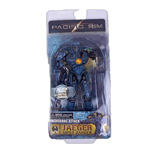 PLAYER-C Pacific Rim Danger Hong Kong Brawl / Anchorage Attack / Battle Damage PVC Action Figure Collectible Model Toy ()