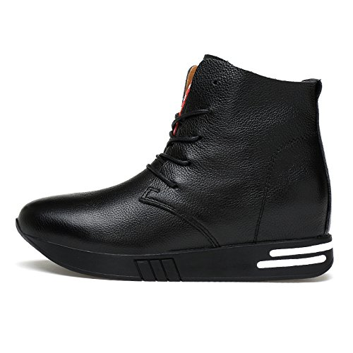 Salabobo QYY-6705 Womens New Fashion Leisure Sweet Lovely Flat Warm Wool Comfy Dress Shoes Black UK Size6.5 ezr6C8