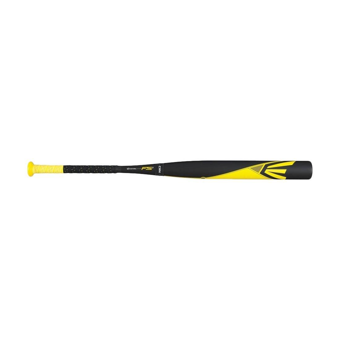 イーストンfs1 Fast Pitch Bat ,イエロー/ブラック/ミディアムイエロー、33