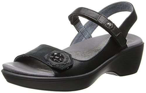 Sandal Wedge Black NAOT Reserve Women wtUqBXf