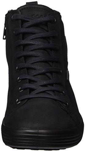 Amber Ecco Soft Noir Braun Black Femme Hautes 7 Ladies Baskets xOAdwr0qO