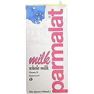 Parmalat Whole Milk 1 Qt (Pack of 6)