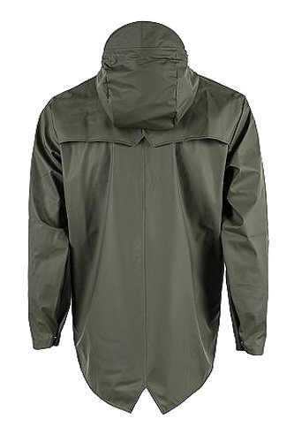 Rains Waterproof Verde Jacket Uomo Impermeabile ZZaSwqr