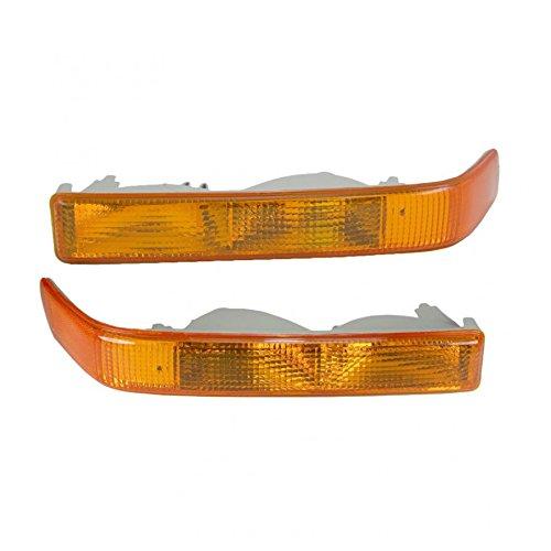 Blazer Parking Signal Light - Corner Parking Signal Light Pair for GMC Chevy Blazer Pickup Truck S-15 S10